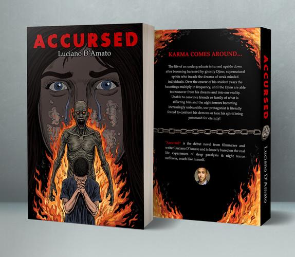Accursed: The Djinn Chronicles full novel mock-up