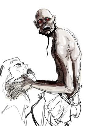 Accursed: The Djinn Chronicles concept art Djinn character