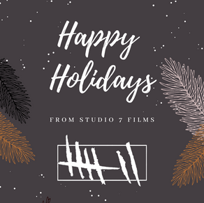 HAPPY HOLIDAYS from Studio 7 Films!