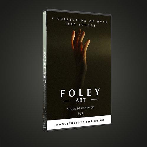 FOLEY ART - sound design pack