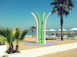 FTS-Solar-Shower-Happy-Beach-w-foot-washer-1