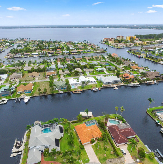 Aerial Drone Photography Cape Coral Florida