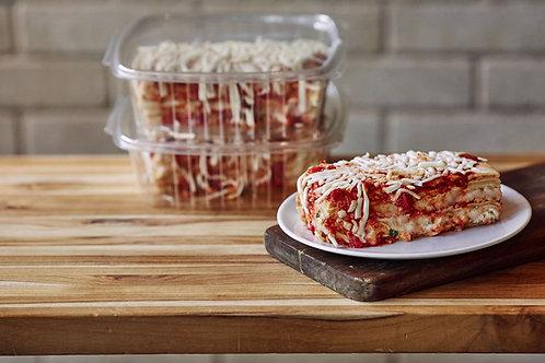 Cheese Lasagna (Serves 2-3)