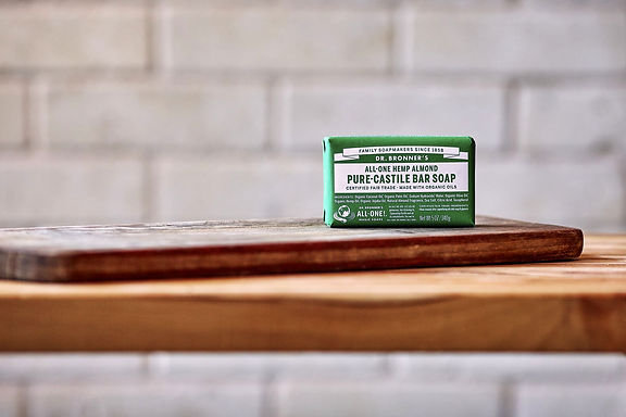 Dr Bronner's Almond Castile Bar Soap