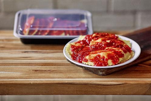 Cheese Ravioli with Marinara Sauce