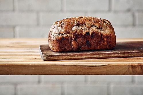 Apple Walnut Raisin Bread
