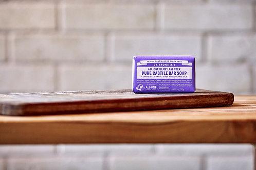 Dr Bronner's Lavendar Castile Bar Soap
