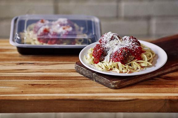 Linguini with Meatballs