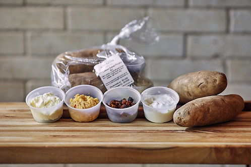 DIY Loaded Baked Potato Kit