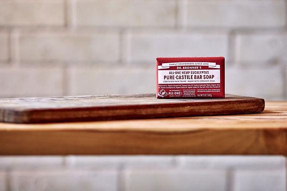 Dr Bronner's Eucalyptus Castile Bar Soap