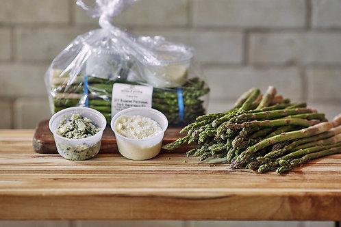 DIY Roasted Parmesan Herb Asparagus Kit