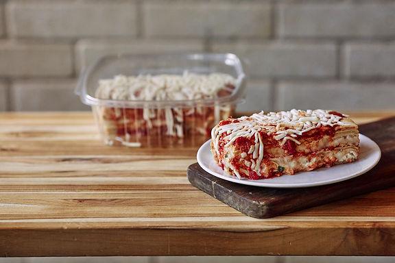 Cheese Lasagna (Serves 1-2)