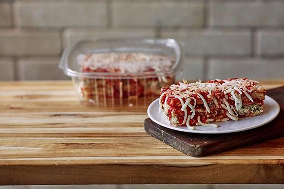 Vegetable Lasagna (Serves 1-2)