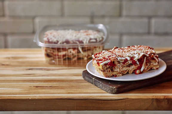 Beef Lasagna (Serves 1-2)