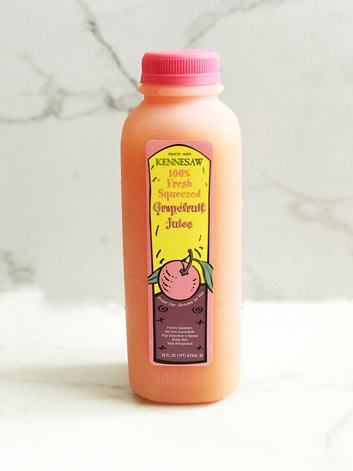 Kennesaw 100% Fresh Squeezed Grapefruit Juice