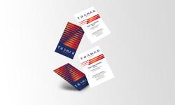 Tramar business card design