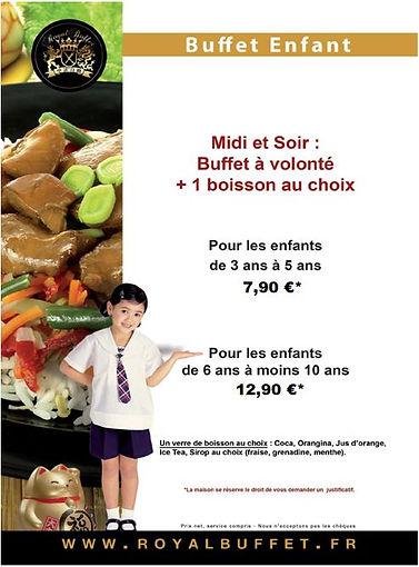 buffet enfant Restaurant asiatique le mans sushi le mans restaurant chinois le mans 72
