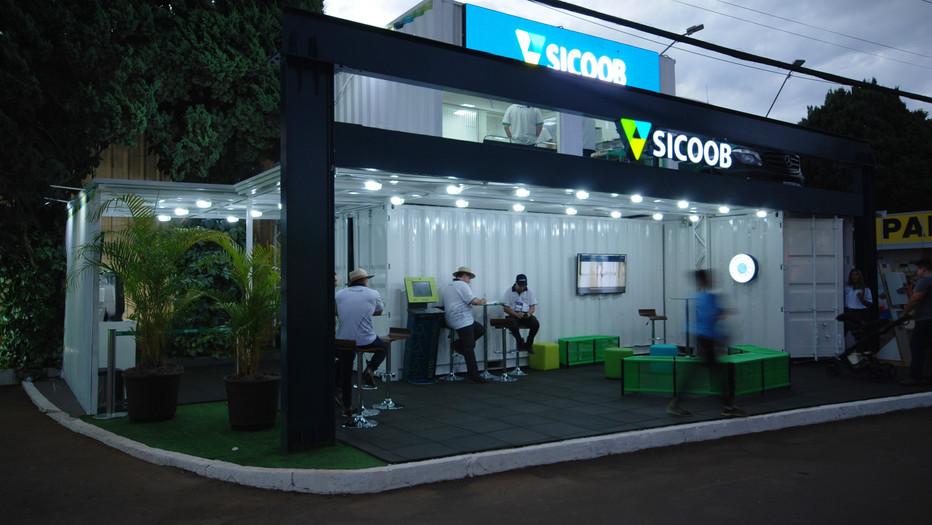Stand Sicoob ExpoLondrina 2018
