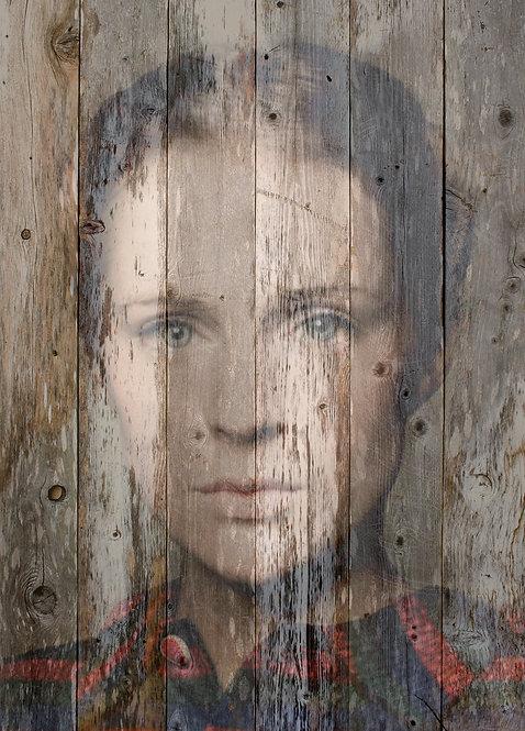 AGNES VEIL - original painting - 30'' x 46''