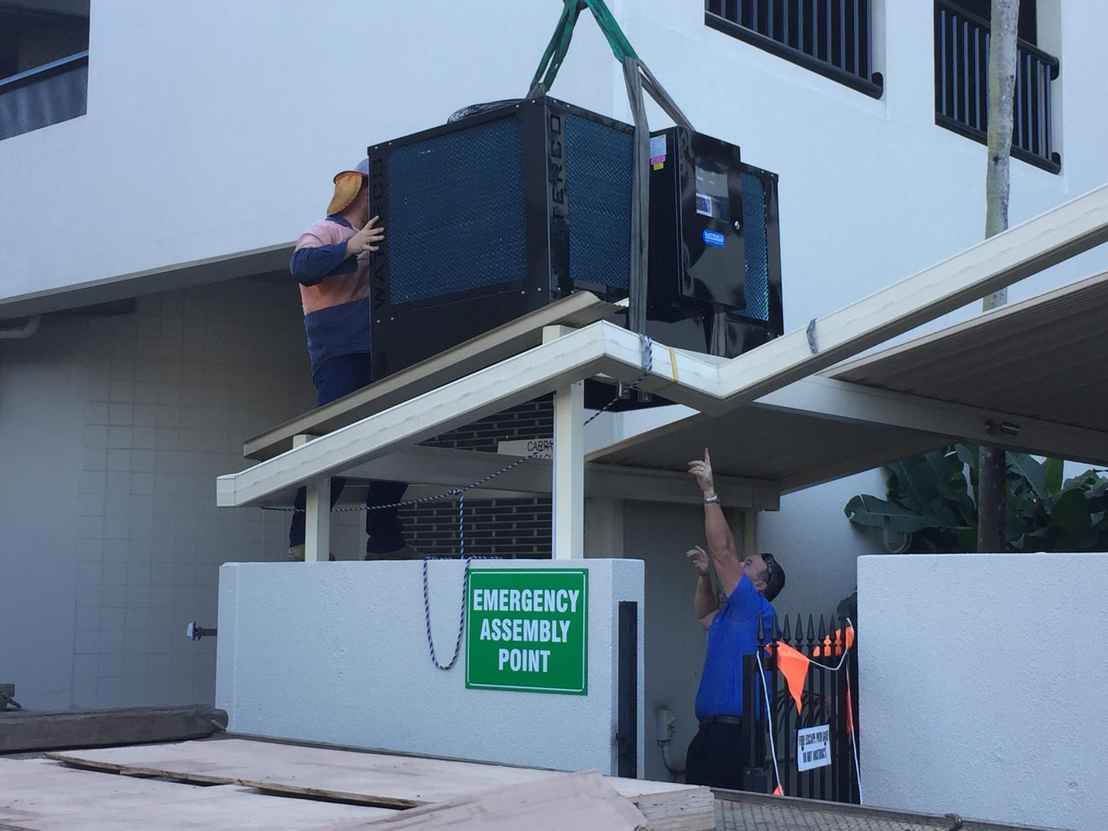 Commercial air conditioning installation cairns