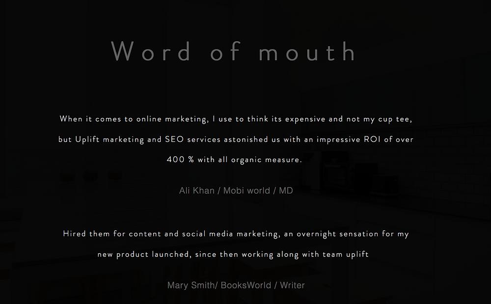 online marketing, seo services, website optimization services
