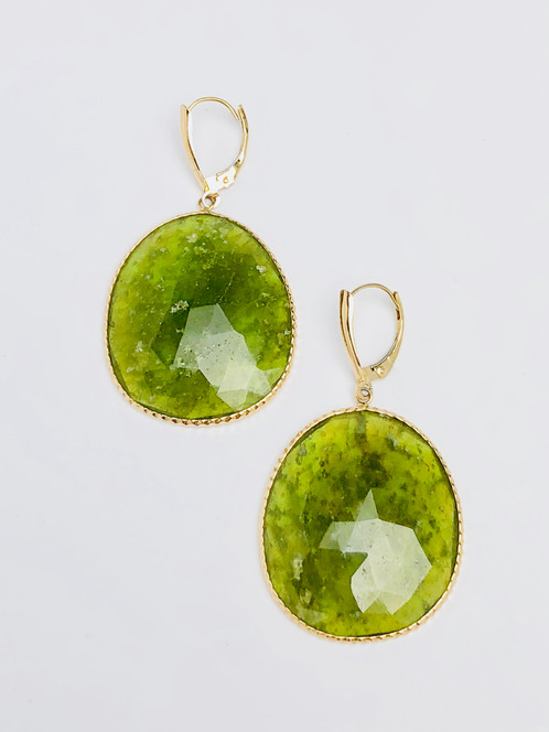 loading s hoop stone image shape peridot is natural yellow gold itm oval earrings