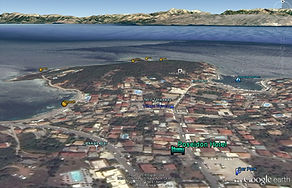 Kassiopi Google Map