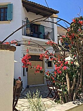 Poseidon Hotel Entrance