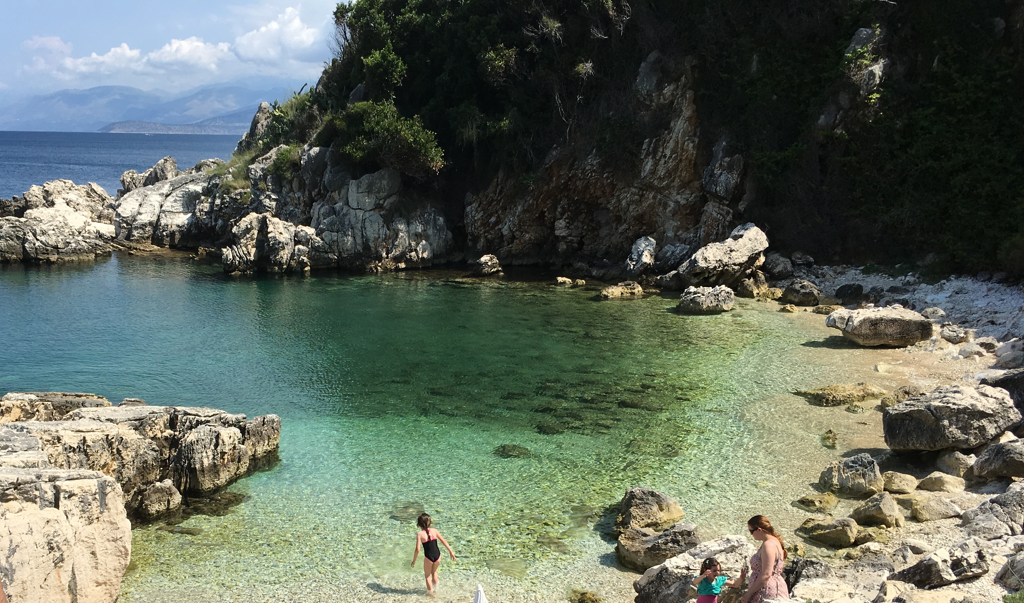 Secluded Cove Kassiopi