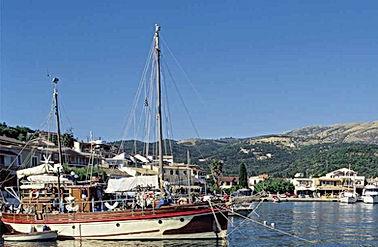 Kassiopi Harbour Boats