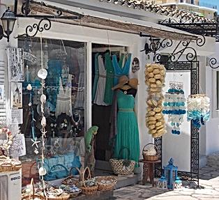 Kassiopi Shopping