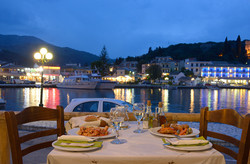 Kassiopi Harbour Meal