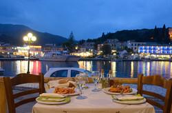 Kassiopi Harbour Meal