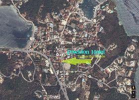 Kassiopi Satellite Map