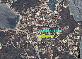 Kassiopi Satellite Map