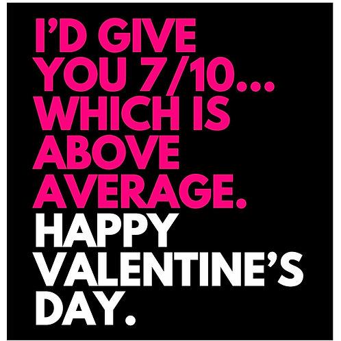 7/10 Valentine's card