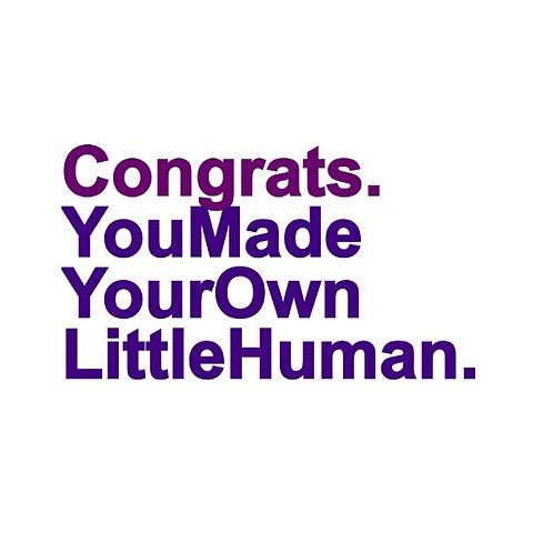 Little Human card