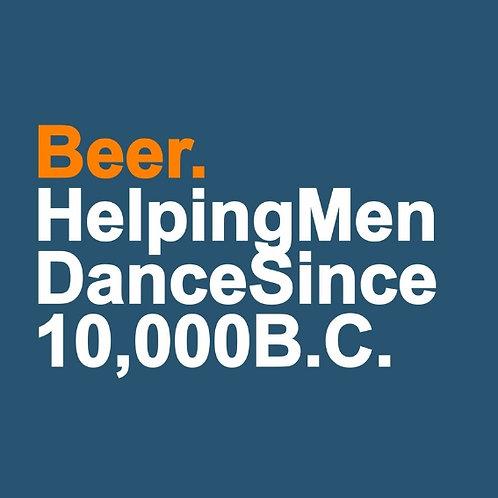 Beer 10,000 B.C. card