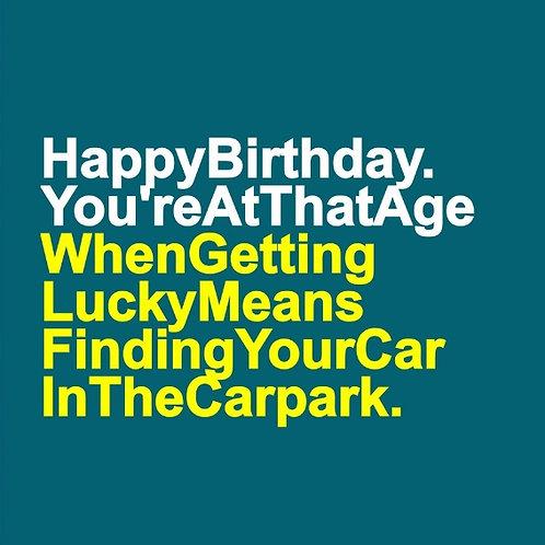 Lucky Car Park card