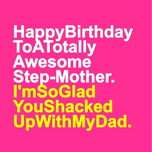 Awesome Step-Mother card