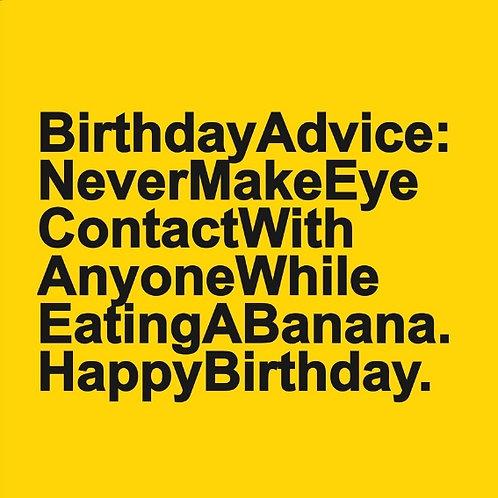 Banana Contact card