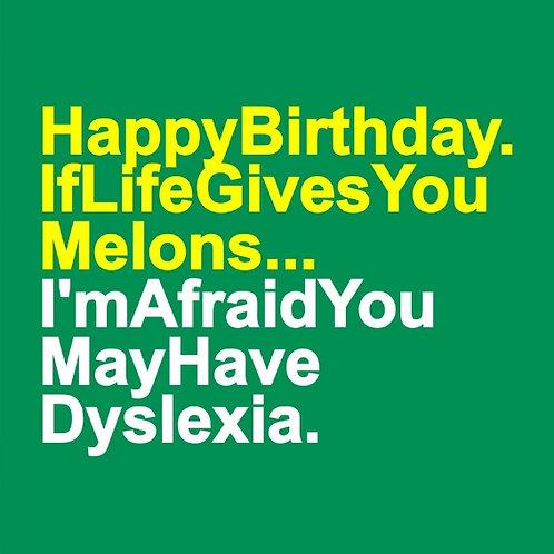 Life Melons card