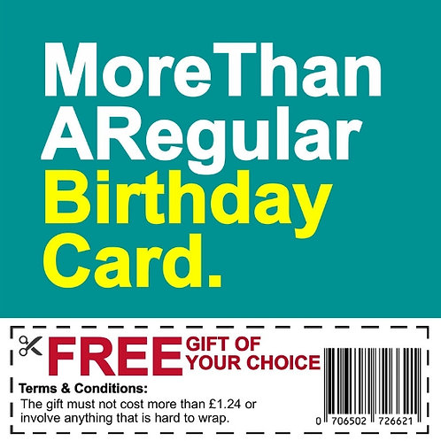 Birthday Gift Voucher card