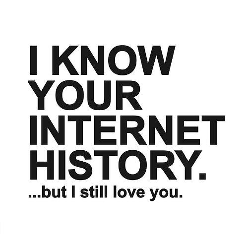 Internet History card