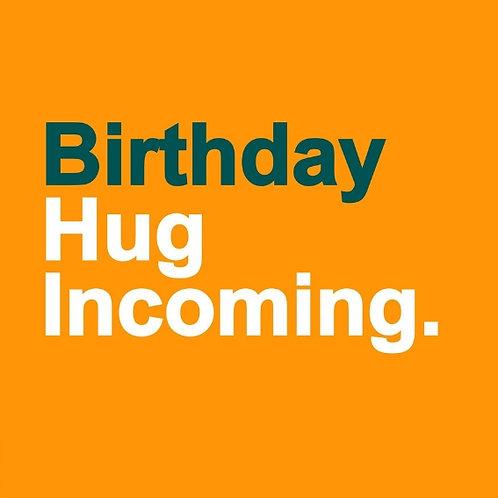 Birthday Hug card