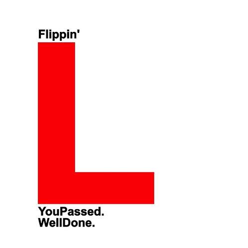 Flippin' L card