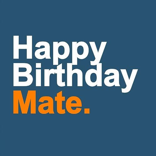Birthday Mate card