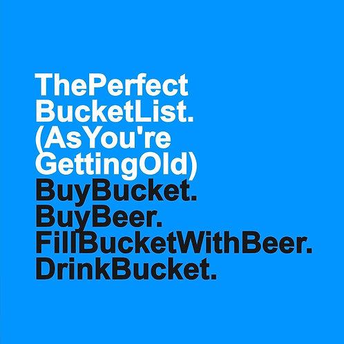 Beer Bucket List card