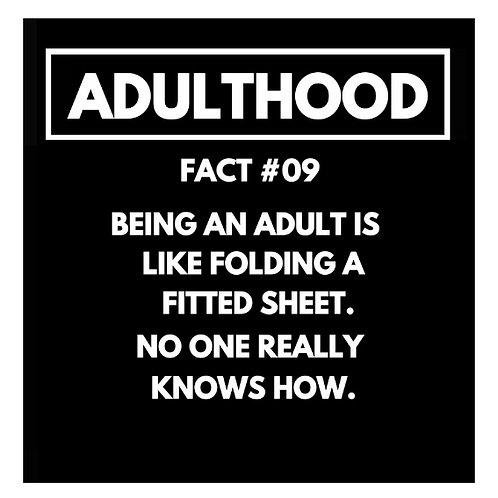 Adulthood Fact#09 card