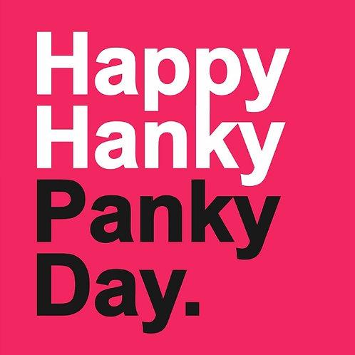 Hanky Panky card